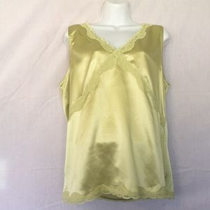 Woman's Light Green Camisole